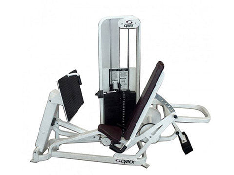 Factory photo of a Used Cybex VR2 Seated Leg Press