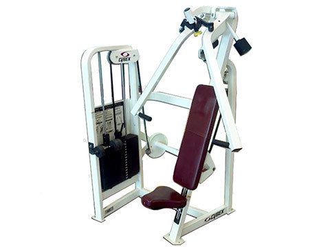 Factory photo of a Used Cybex VR2 Single Axis Chest Press