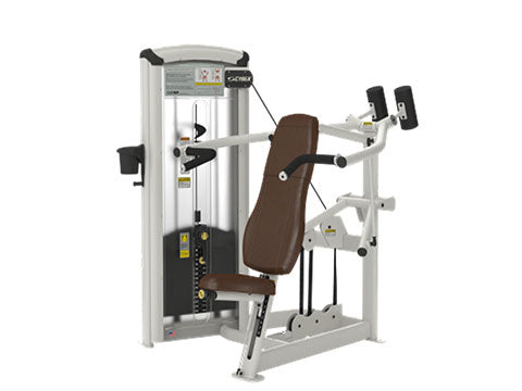 Factory photo of a Used Cybex VR3 Overhead Press