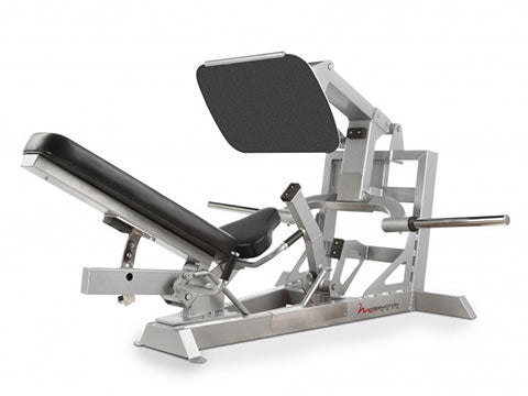 Factory photo of a Used FreeMotion EPIC Plate Loaded 45 Degree Leg Press