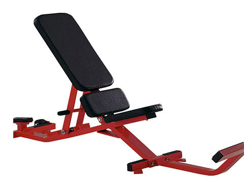 Refurbished Hammer Strength Adjustable Bench with Foot Support