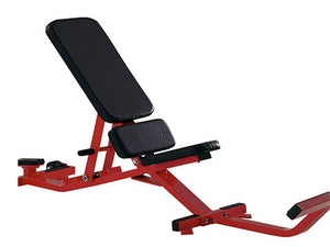 Factory photo of a Refurbished Hammer Strength Adjustable Bench with Foot Support