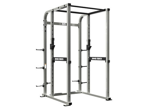 Factory photo of a Refurbished Hammer Strength Athletic Series Power Rack