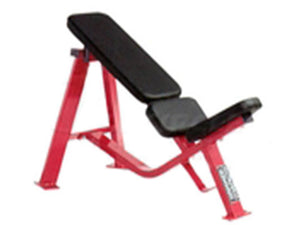 Factory photo of a Refurbished Hammer Strength Incline Bench 30 Degree