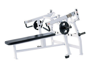 Factory photo of a Used Hammer Strength Iso lateral Horizontal  Bench Press