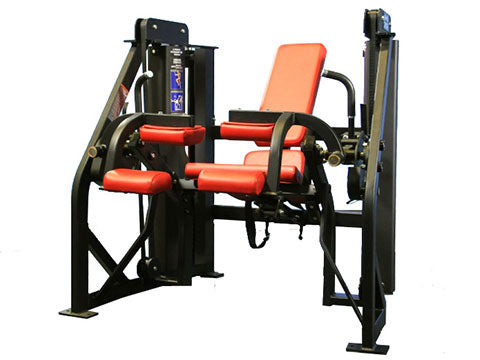 Factory photo of a Refurbished Hammer Strength MTS Seated Leg Curl