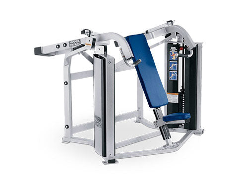 Factory photo of a Refurbished Hammer Strength MTS Shoulder Press