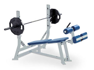 Factory photo of a Refurbished Hammer Strength Olympic Decline Bench