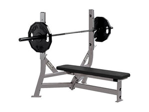 Factory photo of a Refurbished Hammer Strength Olympic Flat Bench