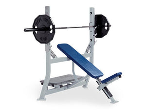 Factory photo of a Refurbished Hammer Strength Olympic Incline Bench