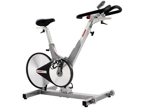 Factory photo of a Refurbished Keiser M3 Plus Indoor Cycle