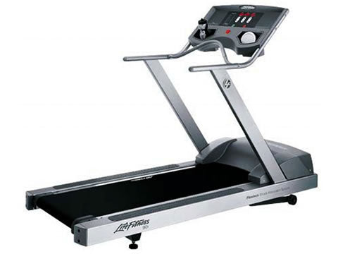 Factory photo of a Used Life Fitness 90T Treadmill