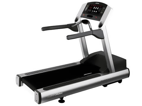 Factory photo of a Refurbished Life Fitness 93Ti Treadmill