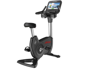 Factory photo of a Refurbished Life Fitness 95C Discover SE Upright Bike