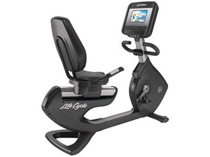 Factory photo of a Used Life Fitness 95R Discover SI Recumbent Bike
