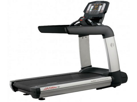 Factory photo of a Used Life Fitness 95T Achieve Treadmill