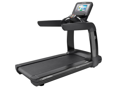 Factory photo of a Used Life Fitness 95T Discover SI Treadmill