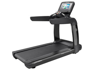 Factory photo of a Refurbished Life Fitness 95T Discover SI Treadmill