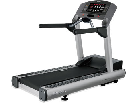 Factory photo of a Refurbished Life Fitness 95Ti Treadmill