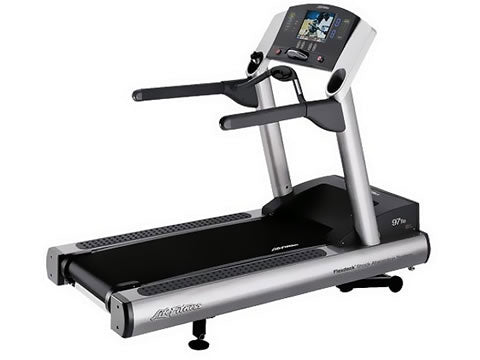 Factory photo of a Used Life Fitness 97Te Treadmill