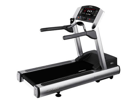 Factory photo of a Refurbished Life Fitness 97Ti Treadmill