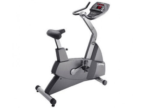 Factory photo of a Refurbished Life Fitness Lifecycle 90C Upright Bike