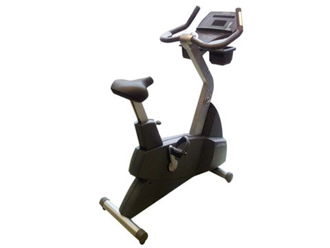 Factory photo of a Refurbished Life Fitness Lifecycle 93Ci Upright Bike