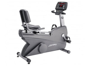 Factory photo of a Refurbished Life Fitness Lifecycle 93R Recumbent Bike