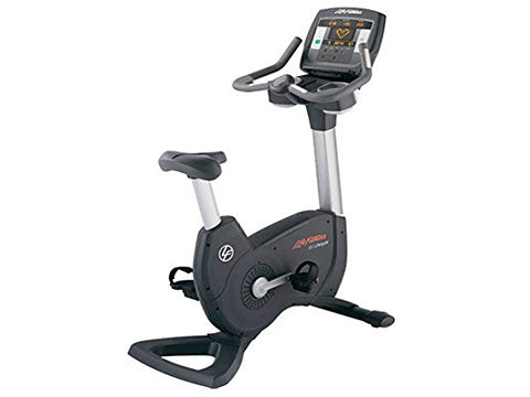 Factory photo of a Refurbished Life Fitness Lifecycle 95C Achieve Upright Bike