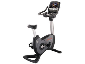 Factory photo of a Refurbished Life Fitness Lifecycle 95C Engage Upright Bike