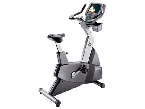 Factory photo of a Refurbished Life Fitness Lifecycle 95Ce Upright Bike