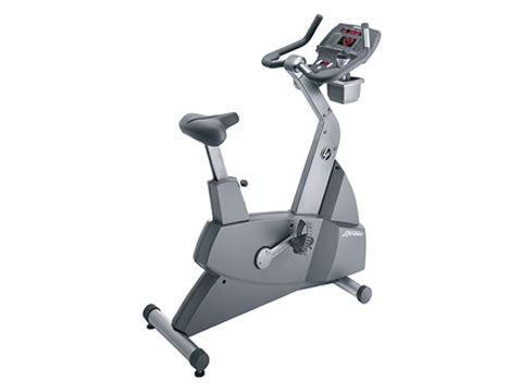 Factory photo of a Refurbished Life Fitness Lifecycle 95Ci Upright Bike