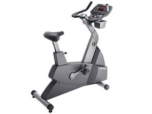 Factory photo of a Refurbished Life Fitness Lifecycle 95Ci XXL Upright Bike