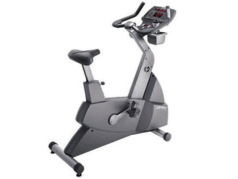 Factory photo of a Used Life Fitness Lifecycle 95Ci XXL Upright Bike