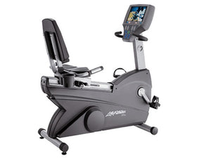 Factory photo of a Used Life Fitness Lifecycle 95Re Recumbent Bike