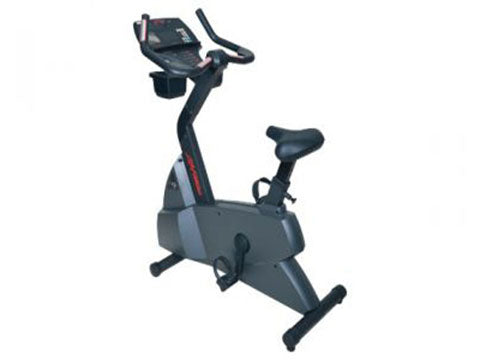 Factory photo of a Used Life Fitness Lifecycle C9i Consumer Upright Bike