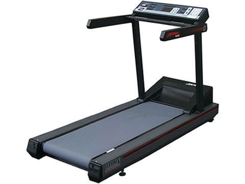 Factory photo of a Refurbished Life Fitness LifeStride 9100HR Classic Treadmill