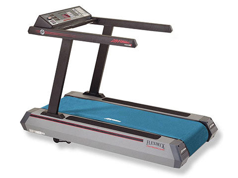 Factory photo of a Refurbished Life Fitness LifeStride 9500HR Classic Treadmill