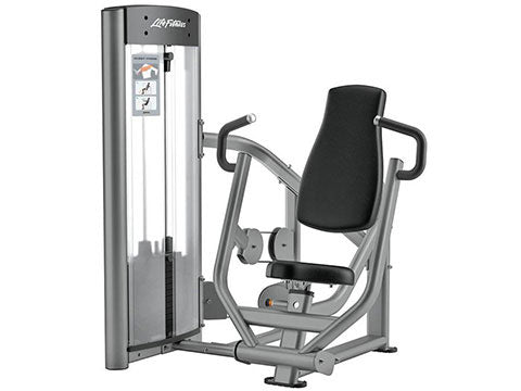 Factory photo of a Refurbished Life Fitness Optima Series Chest Press