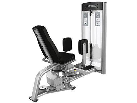Factory photo of a Used Life Fitness Optima Series Hip Abduction and Adduction Combo