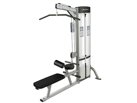Factory photo of a Used Life Fitness Optima Series Lat Pulldown and Low Row