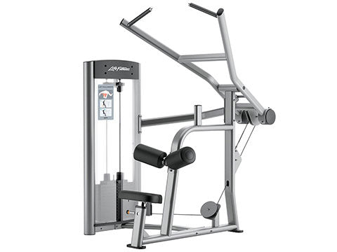Factory photo of a Used Life Fitness Optima Series Lat Pulldown
