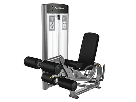 Factory photo of a Refurbished Life Fitness Optima Series Leg Extension and Leg Curl Combo