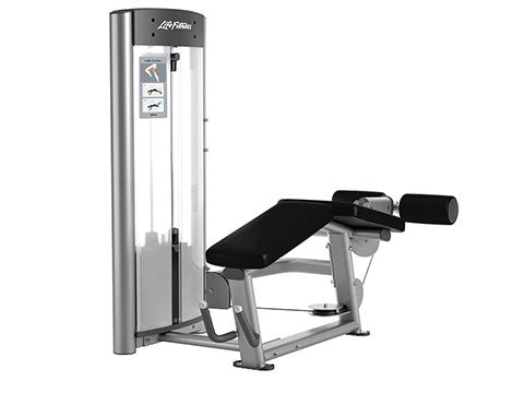 Factory photo of a Refurbished Life Fitness Optima Series Prone Leg Curl
