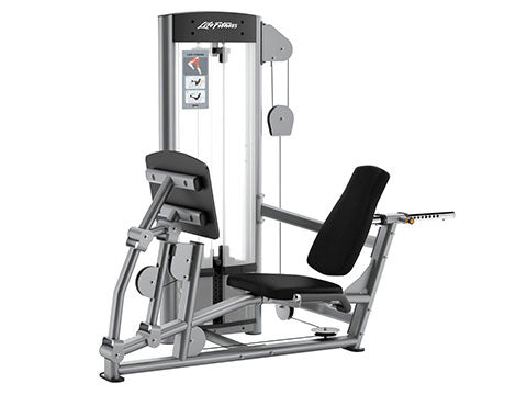 Factory photo of a Used Life Fitness Optima Series Seated Leg Press
