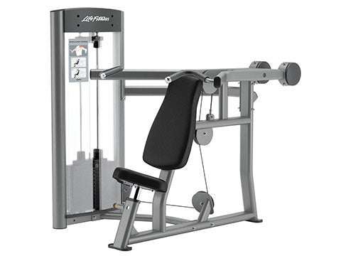 Factory photo of a Refurbished Life Fitness Optima Series Shoulder Press