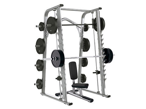 Factory photo of a Used Life Fitness Optima Series Smith Machine