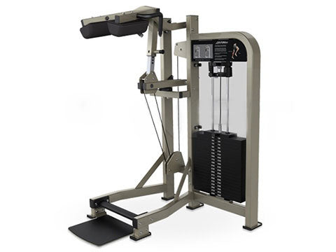 Factory photo of a Refurbished Life Fitness Pro 2 Standing Calf