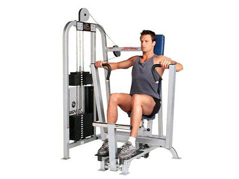 Factory photo of a Refurbished Life Fitness Pro Chest Press