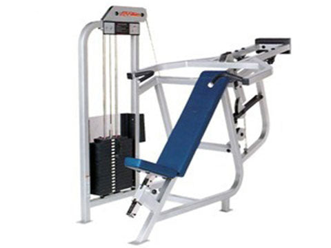 Factory photo of a Refurbished Life Fitness Pro Incline Chest Press